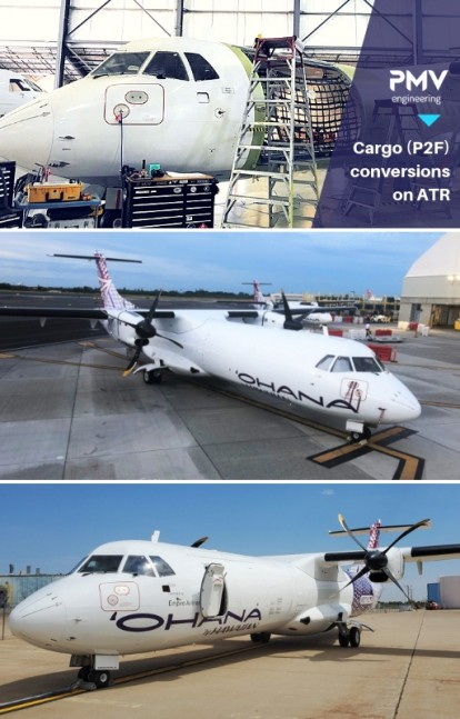 ATR72 212 Hawaiian - Cargo Conversions | PMV Engineering