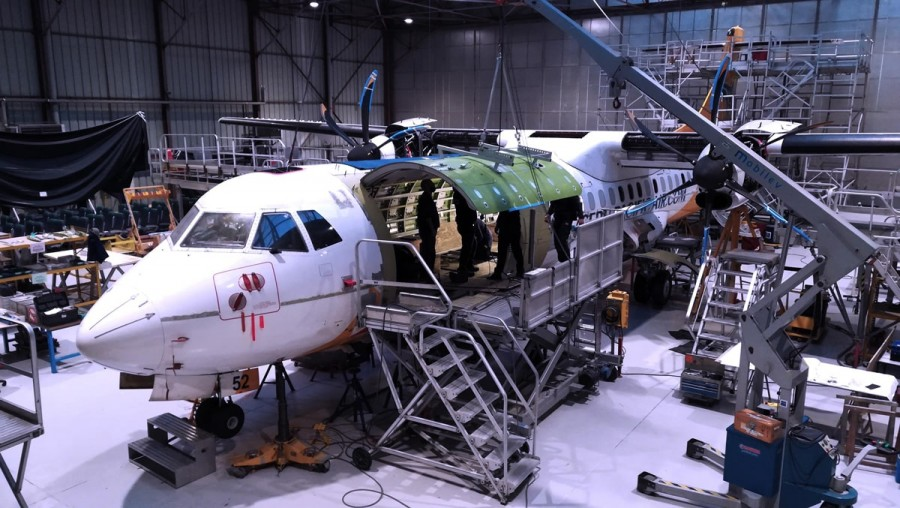 Aircraft structure & repairs - ©PMV Groupe